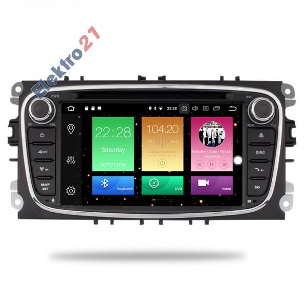 Ford autorádio Android 9 s GPS offline navigací