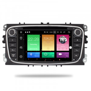Ford autorádio Android 8.1 s GPS offline navigací