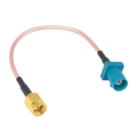 GPS redukce - Fakra konektor, SMA-A zásuvka