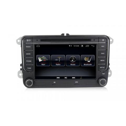 Multimediální 7´´ autorádio ANDROID pro VW - ŠKODA - SEAT new