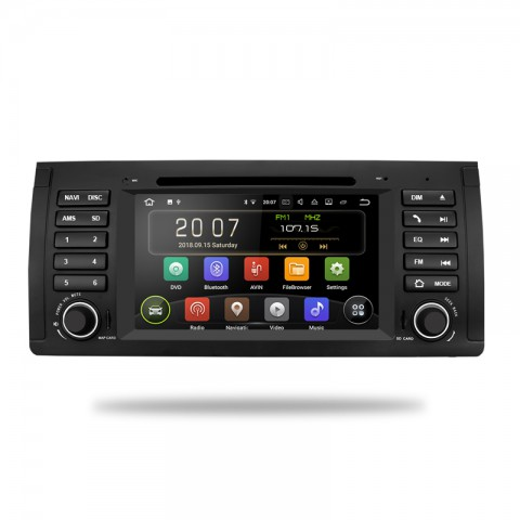 BMW autorádio android - offline GPS navigace