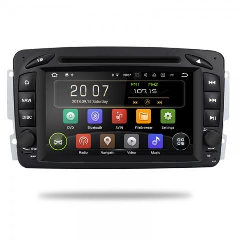 Mercedes autorádio android - offline GPS navigace