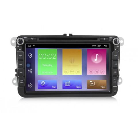 VW 8´´ autorádio Android s GPS navigací a WiFi