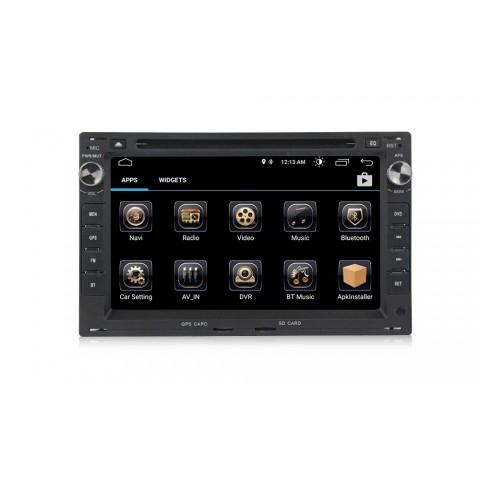 VW 7´´ Autorádio Android s GPS navigací a WiFi