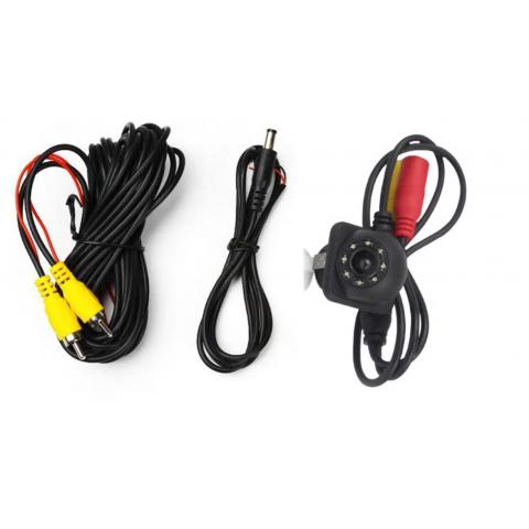 Couvací/Parkovací kamera s LED přísvitem 12V