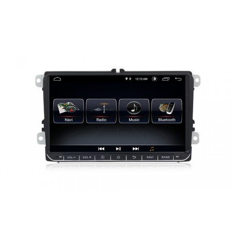 VW 9 Autorádio Android s GPS navigací a WiFi